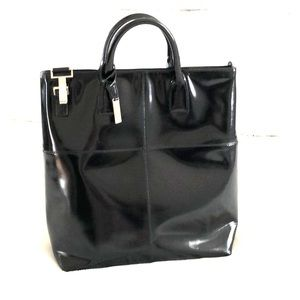 GUCCI Large Leather Tote Bag